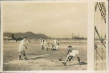 Photograph Japan 1954 Iwakuni Air Base navy  Football Match pic 3 3.25 x 2.25