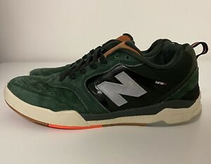 New Balance Numeric 868 Green Silver Brown Mens Sz 8 D NM868TYL Skate Shoes NEW!