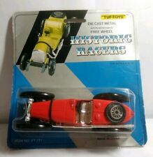 TUF TOYS DIECAST HISTORIC RACERS: 1934 BUGATTI TYPE 59 - RED - VT711