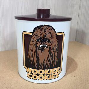 Star Wars Wookies Cookies Biscuit Kitchen Storage Cookie Tin With Lid