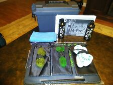 Mpro 7 Cleaning Kit - 5.56,9mm,12ga. Oil, Solvent, Brush, Cloth, Mat in Ammo Box