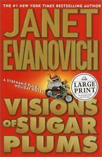 NEW Visions of Sugar Plums (Random House Large Print) by Janet Evanovich