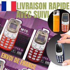 MINI téléphone portable L8star BM10 GSM SLIM bluetooth 2 SIM changeur voix NEUF