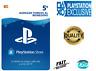 5€ Tarjeta Prepago PlayStation Network PSN PS3 PS4 PS Vita Código 5 Euro - ES