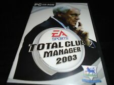 Total club manager 2003     Pc game   football