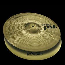"Paiste PST 3 Hi-Hats Medium Top / Medium Heavy Bottom Sustain Cymbals 14"""