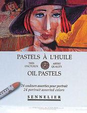 Sennelier Oil Pastel Set - 24 Portrait