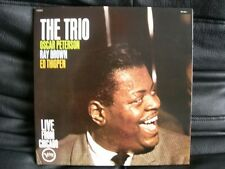 VINYL 33 T – JAZZ – OSCAR PETERSON – THE TRIO LIVE FROM CHICAGO 1961 – VERVE