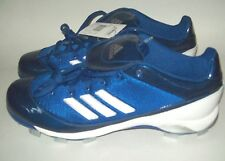 New Men's Adidas As SMU Excel 365 Tp Low Baseball Cleats Spikes blue Size 16