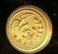 12 Vintage US Bald  EAGLE + ANCHOR Wreath  goldplated Uniform  BUTTON