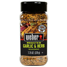 Weber Roasted Garlic & Herb Seasoning - 7.75 oz Shaker