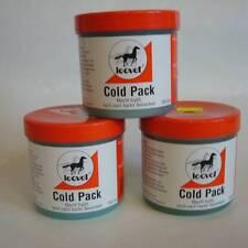3 x 500ml Leovet Cold Pack Pferdesalbe Sportsalbe Massagegel