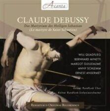 CLAUDE DEBUSSY: DAS MARTYRIUM DES HEILIGEN SEBASTIAN NEW CD