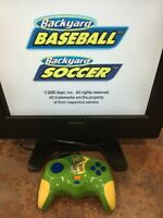Atari Backyard Baseball & Soccer - TV Plug & Play Game - Mint!!!
