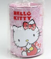 Hello Kitty Round Illustrated Tin Coin Bank, NEW UNUSED Original Sanrio Japan