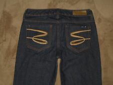 Seven 7 Size 29 Skinny Dark Blue Stretch Denim Womens Jeans