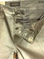 883 Police 'Ace' New, Authentic Distressed Mono-tonal Grey Chinos. Size 32/32
