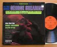 George Shearing It's Real George! 1970 Vinyl LP Crown CRS 2023