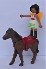 Playmobil  Spirit  Vaulting Solana with Brown Horse      Good Condition