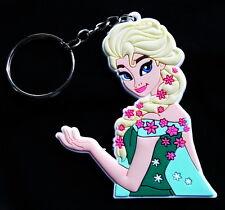Elsa türkis - Walt Disney's Frozen - Gummi Schlüsselanhänger / rubber keychain