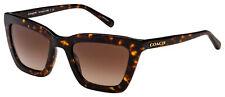 Coach L1630 Sunglasses HC 8203 512013 54 Dark Tortoise | Brown Gradient Lens