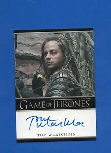 Game Of Thrones Tom Wlaschiha Autograph Card