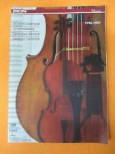 book libro PHILIPS GENERAL CATALOGUE CLASSICS 1996/1997 MERCURY POINT MUSIC(LG7)