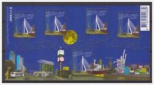 Netherlands 2005 Beautiful Netherlands bridge Rotterdam MNH S/S