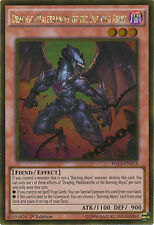 Draghig, Malebranche of the Burning Abyss Gold Rare Yugioh Card PGL3-EN053
