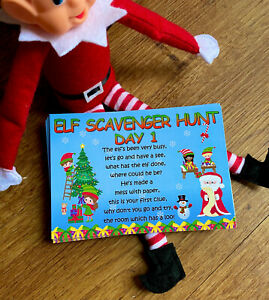 Will The Elf Be Put On The Naughty Shelf? Hunt Clues Ideas Accessories Prop