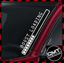 Boost Loading Car / Van Windscreen Decal Sticker Turbo Euro JDM-17 Colours 550mm