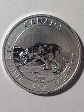2013 RCM 1 1/2oz (1.5oz) Polar Bear .9999 Pure Silver Coin | UNC