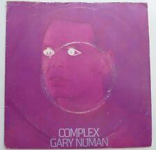 """GARY NEWMAN - COMPLEX 1979 7"""" VINYL SINGLE. BEG 29."""