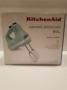 KitchenAid KHM512IC Hand Mixer - Ice Blue