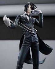 "Black Butler Kuroshitsuji Ciel Sebastian Michaelis Circus 8"" PVC Figure No Box"