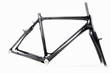 52cm Cyclocross Bicycle Carbon Frame Fork Di2 V Brake Cantilever 3k Glossy BSA