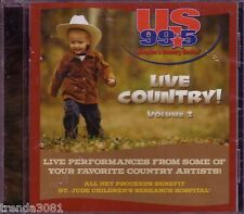 US 99.5 Live Country Volume 2 CD Classic FAITH HILL LEANN RIMES GEORGE STRAIT
