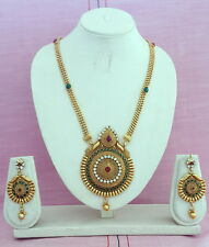 5pcs Wholesale of Indian Bollywood Traditional Gold Plated Fashion Necklace Sets