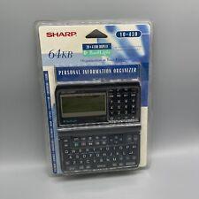 Sharp Y0-430 Yo-430 Electronic Organizer Backlit Handheld Pda Address Phone#