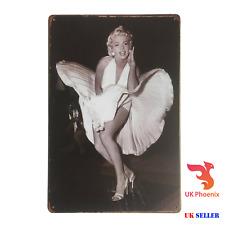 Decorative TIN Marilyn Monroe 20x30cm Metal Plaque Wall Sign Decor Famous PHOTO