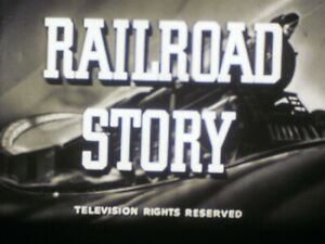16 mm B&W Sound Castle Films Railroad Story 1951 Lionel Trains