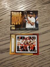 2019-20 NBA Hoops Kawhi Leonard Road to the Finals MVP & NBA Champions Card SP!!