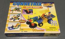 Kids Construction Toys Connetrix Solar Works  200 Piece - Used item 6338