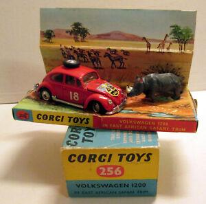 Corgi Toys 256 Volkswagen 1200 African Safari,     original