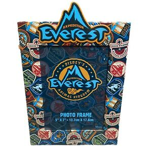 """Disney Parks Animal Kingdom Expedition Everest Photo Frame  5""""x7"""" Picture Ride"""