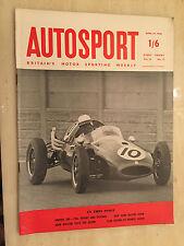 AUTOSPORT April 25th 1958 - AINTREE 200, Renault Alpine Coupe Test