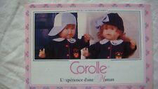 Catalogue poupées collection Corolle vintage ancienne 1994 complet