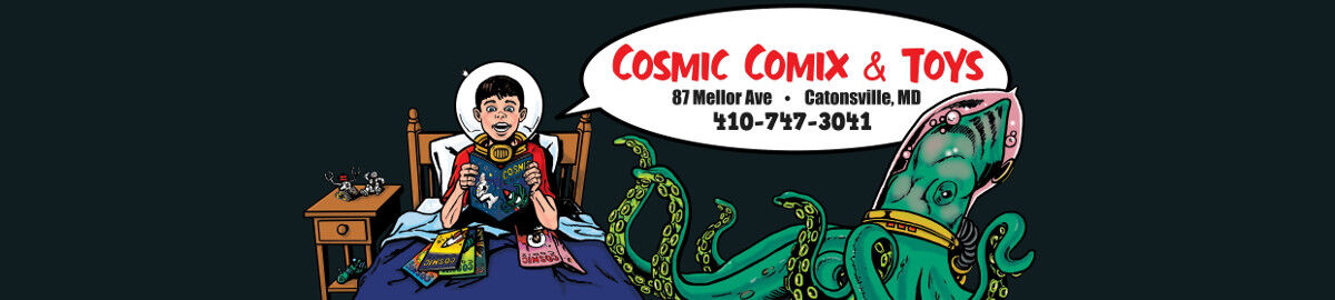 Cosmic Comix and Toys