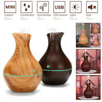 USB LED Humidifier Ultrasonic Essential Oil Diffuser Aroma Aromatherapy Purifier