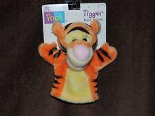 New Mattel PLUSH TIGGER HAND PUPPET 69720 Winnie the Pooh